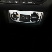 For Hyundai IX25 2015 Inner Cigar Lighter Switch Button Panel Cover Trim 1pcs