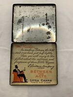 VINTAGE BETWEEN THE ACTS LITTLE CIGARS TIN T.H.H. BY P. LORILLARD COMPANY