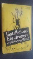 Instalaciones Eléctricas Y Electrodomestiques E. Bonnafous Pin 1959 ABE