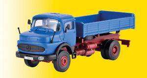 Kibri 14129 Échelle H0,MB Capot Rond Lak 1620 Avec Tilt - Camion Benne # Neuf IN
