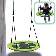 "Round Nest Swing Kid Child 40"" Tree Hanging Swing Saucer Spinner Padded Family"