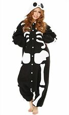 Sazac Skeleton Fleece Kigurumi Cosplay Costume Party Pajamas Halloween