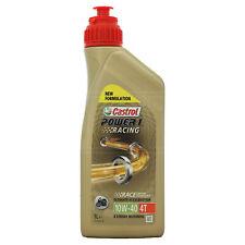Castrol Power 1 Racing 4T 10w-40 Synthetic 4 stroke 10W40 Bike Oil 1 Litre 1L