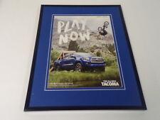 2015 Toyota Tacoma 4x4 Framed 11x14 ORIGINAL Advertisement