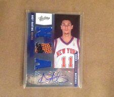 Andy Rautins 2011 Winning Premiere Materials Patch Ball Autograph /499 Knicks