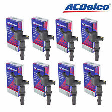 Set of 8 ORIGINAL Ignition Coil New ACDelco BSC1659 DG521 (BROWN BOOT) NEW