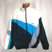 Head Sportswear Mens Black Blue and White Vintage 80's Ski Jacket Size Medium