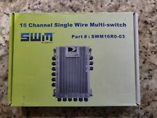 DIRECTV MULTISWITCH 6-swm16 and 5-swm8 multiswitches with 11-29v power supplies