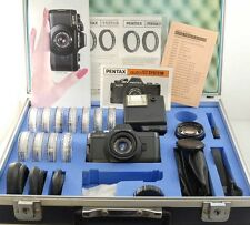 Pentax Auto 110 SLR System film camera kit in hard case