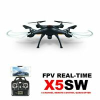 Syma X5SW Wifi FPV Real-time 2.4G RC Drone UAV with 2MP HD Camera Quadcopter