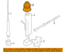 BMW OEM 96-99 Z3-Antenna Mast Grommet 65218389555