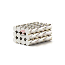 100PCS  5 mm X 1.5 mm Rare Earth Neodymium N50 Strong Magnets Disc Permanent