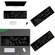 Large Computer Gaming Mouse Pad Gun Disassembling Mat Large Mousepad For Office
