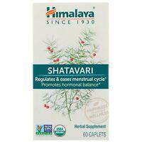 Himalaya Shatavari 60 Caplets Dairy-Free, Gluten-Free, GMP Quality Assured,