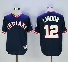 New Cleveland Indians #12 Francisco Lindor Jersey Size L - See Ship Date