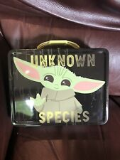 Brand New Collectible Star Wars Baby Yoda Mandalorian Tin Lunch Box-New Release!