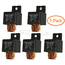 5PCS Automotive Car Relay DC 12V / 24V 80A SPDT Auto Switches for Car Bike Boat