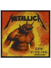 Metallica official Woven Parche Jump In The Fire Parche U. S. Heavy Thrashmetal