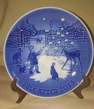 "Vintage Jule After ""Light in the Snow"" Royal Copenhagen B & G Collector Plate"