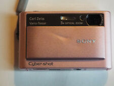 Sony Cyber-shot DSC-T20 8.1MP Digital Camera - Pink