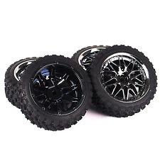 12mm Rim Hex 1:10 Rally Tires Wheel For HSP HPI RC Racing Car 10087 4pcs Set