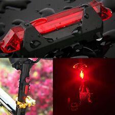 Bike Rear Tail Light Bicycle Rear Light Warning Flash USB Rechargeable Lamp 1pcs