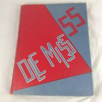1955 Ole Miss Rebels College Yearbook Annual University of Mississippi