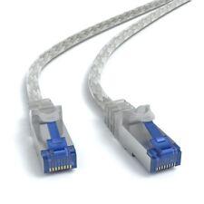 2m CAT 7 Patchkabel Netzwerkkabel Ethernetkabel DSL LAN Kabel  - TRANSPARENT