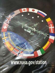 """NEW NASA Backpack / Shoulder Bag  International Space Station """"History"""" NOS"""