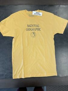 UO National Geographic Yellow Men's T Shirt Size M New