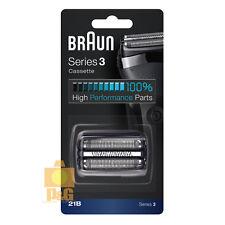 New Braun 21B Series 3 Black Cassette Foil & Cutter Pack Shaver Replacement Head