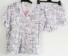 Peter Alexander Cotton Jersey Kitty Shortie Set Sz XL NWT RRP $90
