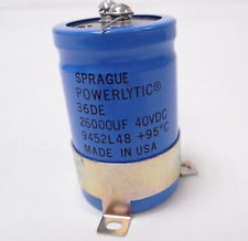 73000uf 15V CAPACITOR-SPRAGUE COMPULYTIC RADIAL SCREW TOP-105mmX70mm