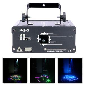 RGB Animation Ray Scan Line Projector 500mW DMX DJ Party Club Stage Lightings