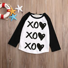 Kids Cotton Tops Baby Girls Boys Long Sleeve T Shirt Summer Tee T-Shirt Clothes