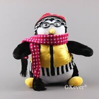 "Huggsy Penguin Plush Doll TV Friends Joey Tribbiani Hugsy Hat Goggles 18"" Gift"