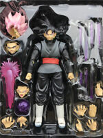 Dragonball Z S.H.Figuarts Goku Gokou Black Super Saiyan Rose Action Figure 6''