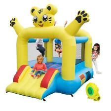 Inflatable Bounce House Castle Kids Jumper Slide Safety Bouncer w/ Air Blower
