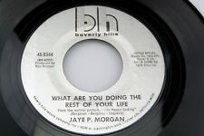 Jaye P. Morgan: What Are You Doing the Rest of Your Life / Applause  [VG+ Copy]