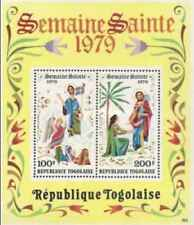 Timbres Religion Paques Togo BF126 ** lot 24238