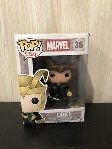 Marvel Loki # 36 Damaged Box Funko Pop Vinyl