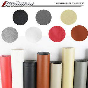 Marine Faux Synthetic Leather Fabric Auto Upholstery Refinish Vinyl Material DIY