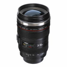 Stainless Steel Cup Canon EF 24-105mm Lens Mug Coffee Tea Cup For Caniam Camera