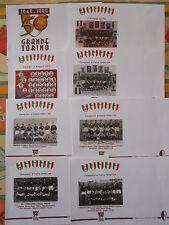 SERIE 8 BUSTE COMMEMORATIVE-GRANDE TORINO 1949 - 1999 - 50° ANNIVERSARIO