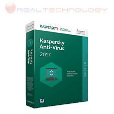 KASPERSKY ANTIVIRUS 2017 3USER 1YEAR IT SIERRA SLIM IT KL1171TBCFS-SLIM 3 UTENTI