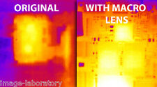 NEW Macro Lens FOR SEEK THERMAL CAMERA IMAGING ANDROID FLIR LWIR NIGHT VISION