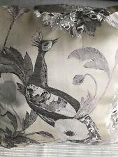 John Lewis & Partners Java Peacock Cushion Covers X2 Bronze
