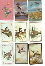 72 Different Bird Playing Card Singles