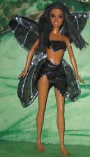 Irdessa~Black, Silver & Iridescent AA Fairy~OOAk Barbie Christie Doll Repaint
