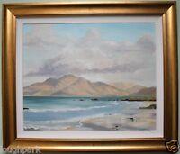 Original Oil on Board Painting CONNEMARA by Irish Artist ADRIENNE CATHERWOOD